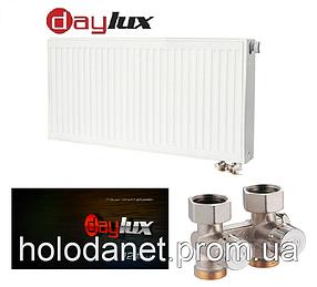 Стальной радиатор Daylux 22тип 500х900(Нижнее подключение)