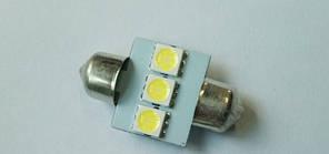 Автолампа светодиодная C5W 31mm-3SMD-5050