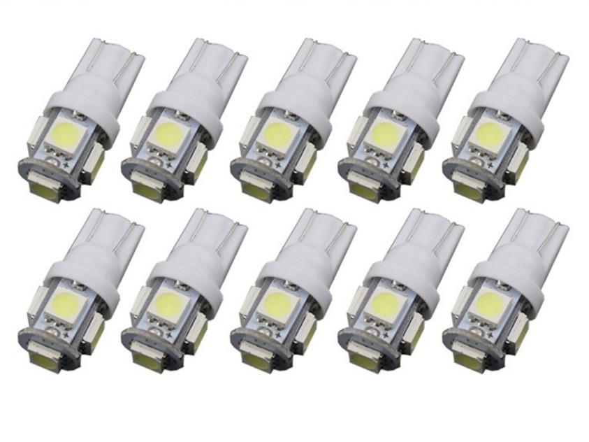 Автолампи світлодіодна T10-5SMD-5050