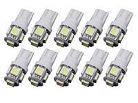 Автолампи світлодіодна T10-5SMD-5050, фото 1
