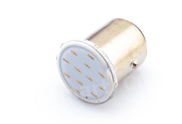 Автолампа светодиодная P21/5W(1157)-15smd на 15 светодиодов (голубой)