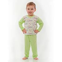 Пижама для новорожденных зелёная