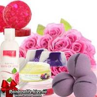 Женские наборы подарочные из мыла