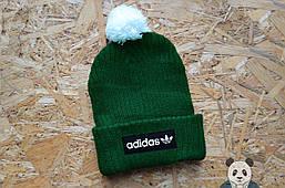 Зимняя шапка Фред пери , Fred Perry мужская зеленая шапка