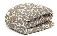 Зимнее стеганное одеяло овчина двухспальное