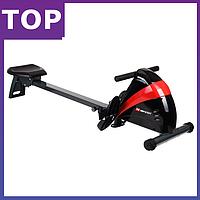 Гребной тренажер Hop-Sport HS-030R Boost  для дома и спортзала