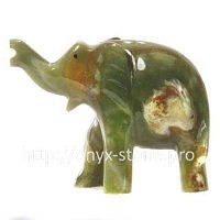 Слон из натуральные камень оникса