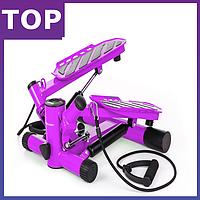 Степпер Hop-Sport HS-30S violet для дома и спортзала