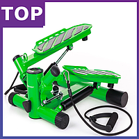 Степпер Hop-Sport HS-30S green для дома и спортзала