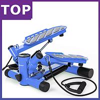 Степпер Hop-Sport HS-30S blue  для дома и спортзала