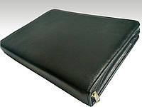 Папка для документов кожаная 71012, иск.кожа., черн