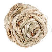Игрушка для грызунов Шар травяной со звонком 6 см Trixie 61821
