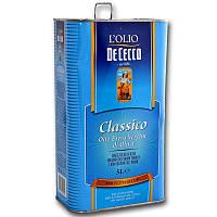 Масло оливковое De Cecco il classico extra vergine 5 л, фото 1