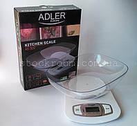 Кухонные весы с чашей Adler, фото 1