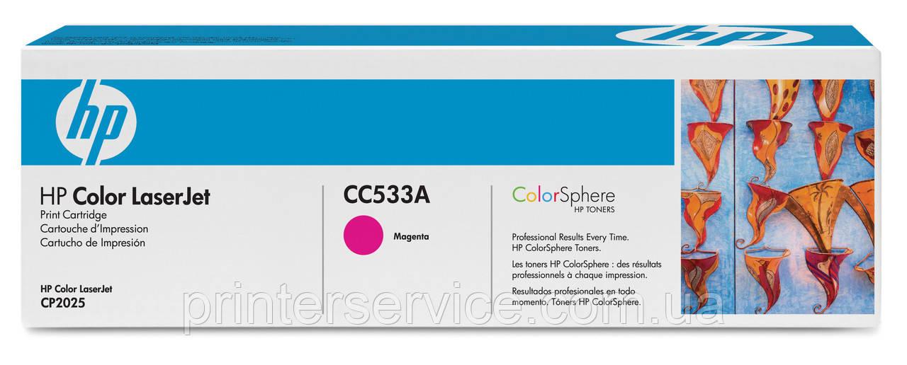 CC533A (304A) magenta картридж для HP LJ CM2320nf/2320fxi/CP2025dn/CP2025n
