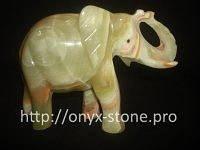 Слон из  камень