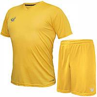 Комплект футбольной формы SWIFT VITTORIA COOLTECH Желтая (Размер XL/50)