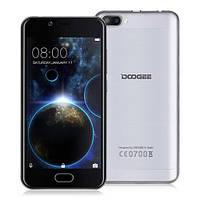 """Смартфон Doogee Shoot 2 1/8Gb серебро, 4 ядра, 5+5/5Мп, 5"""" IPS, 3360 мАч"""