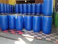 Бочка 227 литров б/у пластиковая с двумя горловинами (пищевая, техническая)