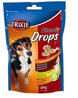 Витаминные дропсы для собак Трикси со вкусом бекона 200гр