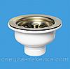 Горловина для кухонной мойки MсAlpine MRSKW7-AB без перелива Бронза