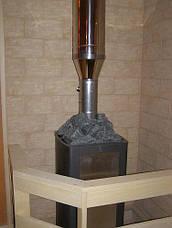 Переходник дымохода 0,5 мм AISI 304, фото 2