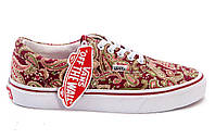 Кеды Vans Era Bandana Red 36-39 рр