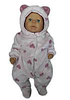 Комбинезон теплый для новорожденных , фото 1