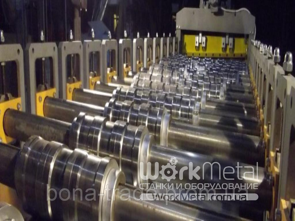Обладнання для виробництва профнастилу Н-75