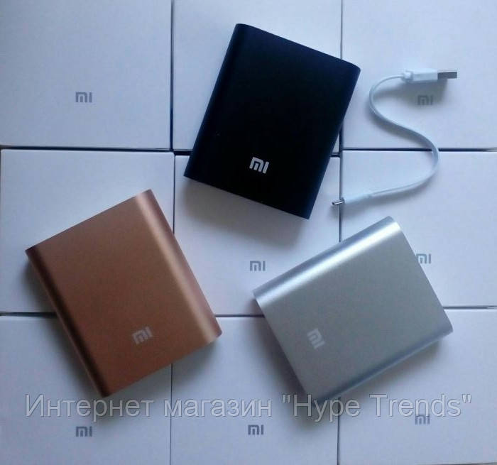 Power Bank 10400mAh Xiaomi. Внешнее зарядное портативное устройво.
