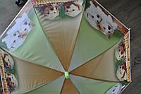 Детский зонт трость, полуавтомат силиконовый paolo rosi