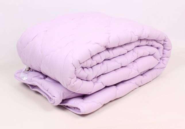 Зимнее теплое одеяло из холлофайбера полуторное