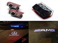 Подсветка двери Mercedes GL ML E C A B class после 2011г