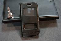 Чехол книжка для Samsung Galaxy S Duos S7562 S7560 цвет черный