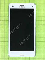 Дисплей Sony Xperia Z3 Compact D5803 в сборе Оригинал Китай Белый