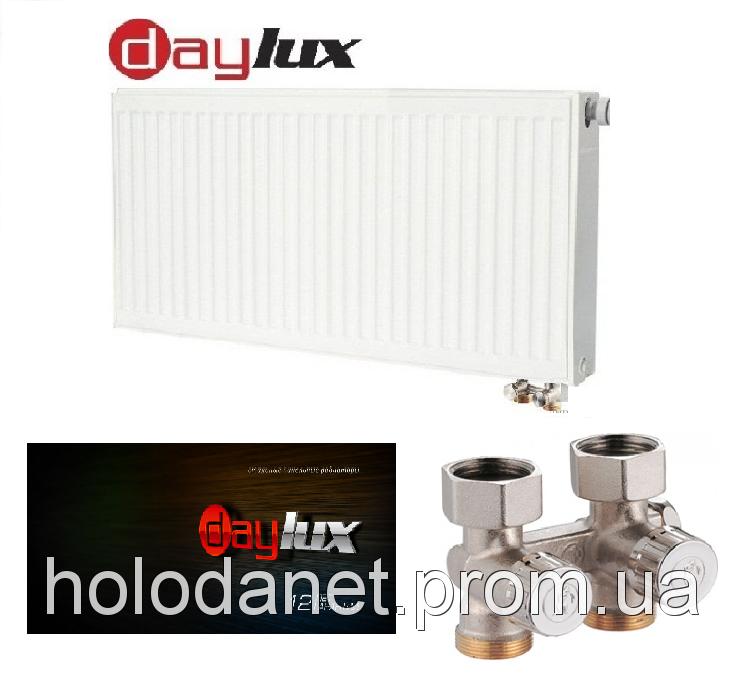 Стальной радиатор Daylux 22тип 500х1600(Нижнее подключение)