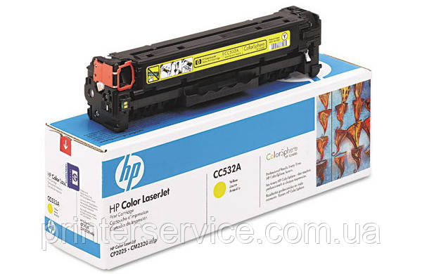 Картридж CC532A (304A) для HP LJ CM2320nf/2320fxi/CP2025dn/CP2025n