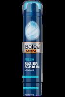 Пена для бритья мужская Balea Men Fresh Rasierschaum- освежающая