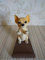 Подставка для телефона (смартфона) собачка чихуахуа