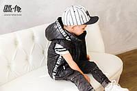 Дутая жилетка на мальчика ( черная )