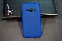 Чехол бампер силиконовый Samsung SM-J120 (Galaxy J1 2016 Duos) (GCSJ120F) цвет синий