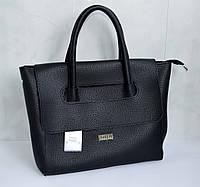 Женская  сумка  эко-кожа черная Wallaby