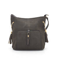 Женская сумка-клатч 952 т. коричневая