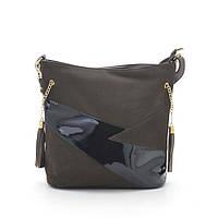Женская сумка-клатч 955 т. коричневая