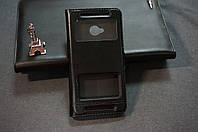 Чехол книжка для HTC M7 One 801e цвет черный