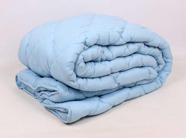 Зимнее теплое одеяло из холлофайбера двухспальное