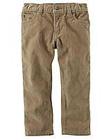 Штаны вельветовые Carters на мальчика 4-8 лет Corduroy Pants