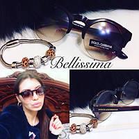 Женские круглые солнцезащитные очки r-538JA