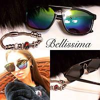 Женские солнцезащитные очки-хамелеон с квадратной оправой x-553JA
