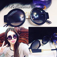 Женские стильные круглые солнцезащитные очки  l-575JA